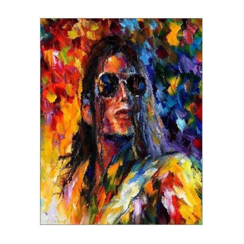 "Wall Art Print 14 x 11/"" Michael Jackson"
