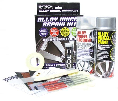 538a4b67d4 E-Tech AW-KIT-01-ET Car Complete Alloy Wheel Refurbishment Repair  Professional Kit