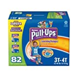 Health & Personal Care : Huggies Pull-Ups Learning Designs Training Pants, Boy, Size 3T-4T, 82 Count