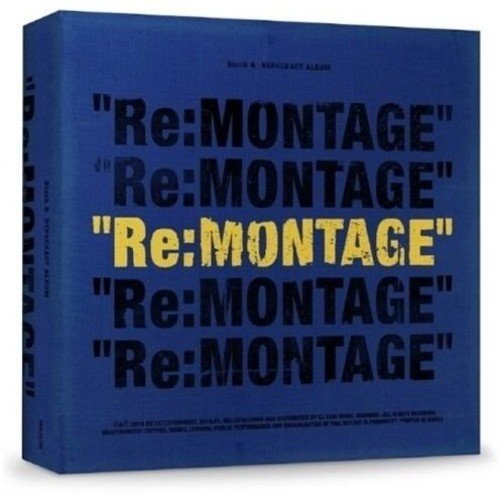 CD : Block B - Re:montage (Asia - Import)
