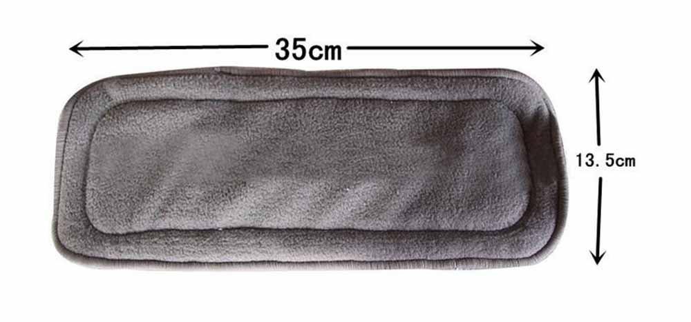 3-,4-,5-fache wiederverwendbare Einlagen f/ür Stoffwindeln aus Bambus und Baumwolle Ohbabyka