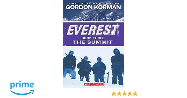 Everest Book Three: The Summit: Gordon Korman: 9780545392341: Books ...