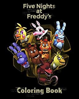 five nights at freddys coloring book for kids adults high quality illustrations - Fnaf Coloring Book