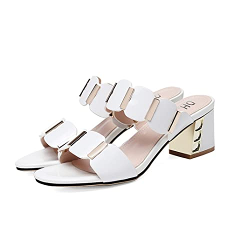 Scarpe Comfort Da Sandali Pantofole Donna Artificiale Estate Pu x8BxwHS