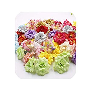 END GAME 30pcs Mini Artificial Silk Artificial Flowers Home Decoration Silk Wedding Decoration Flower Party 79