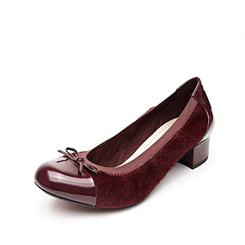 e26b0229d1be5 Clarks Balcony Poem Ox-Blood (Red) Womens Heels 3.5 UK: Amazon.ca ...
