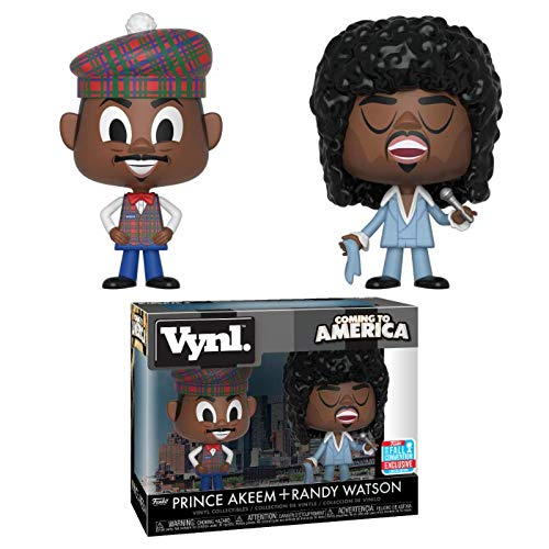 Vynl Coming to America Prince Akeem & Randy Watson Figures 4