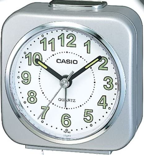 Casio Wake Up Timer Reloj Despertador, Gris