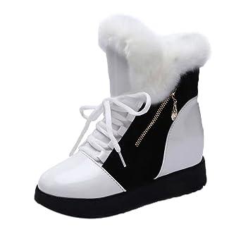 Damen Schuhe Stiefeletten Elegant Fashion Gr.35-39 Winter Warm Schneeschuhe TOP