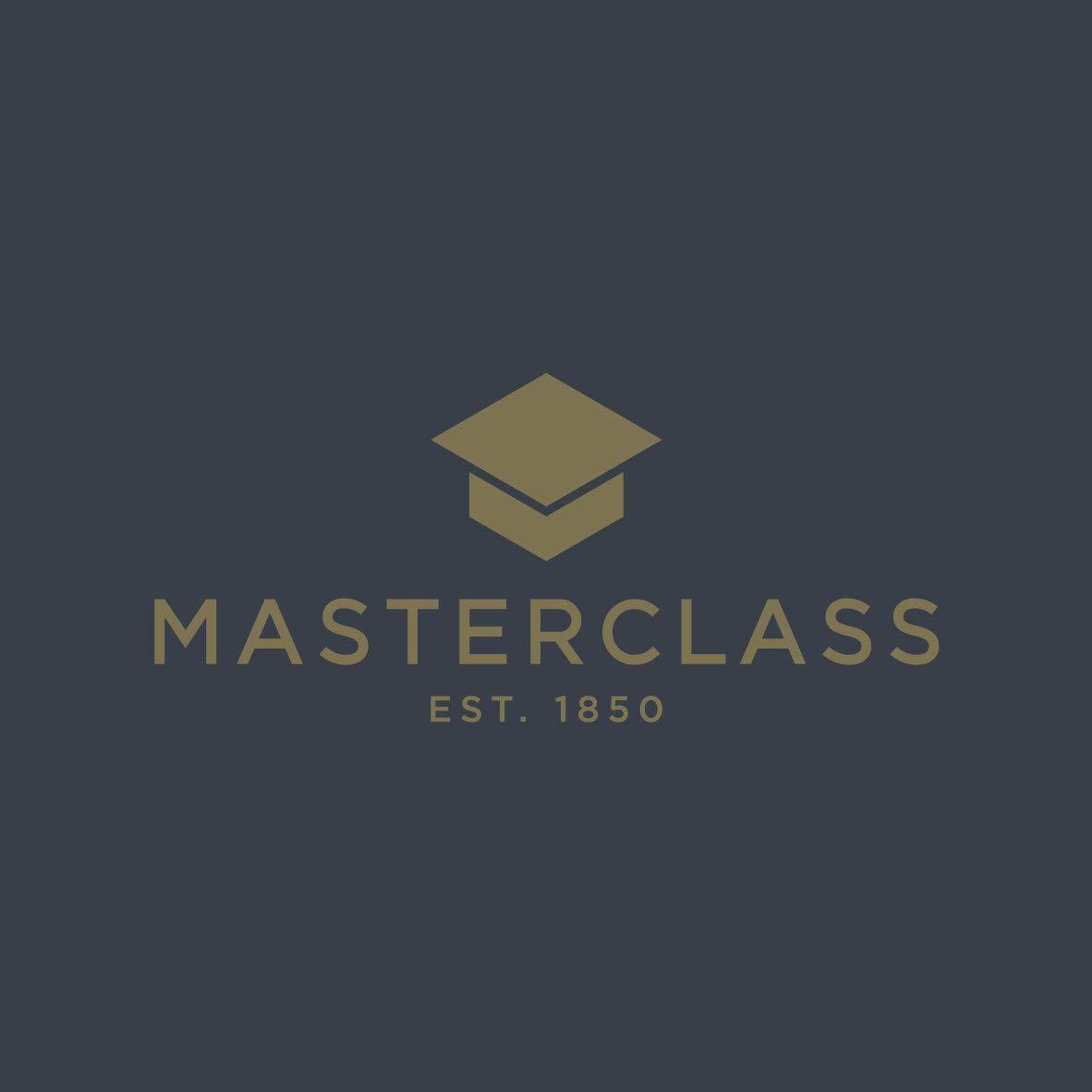 Brass Effect MasterClass Trivet with Non Slip Feet Metal