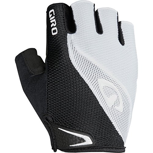 Plastic Mens Glove (Giro Bravo Gel Bike Glove - Men's White 2X-Large)