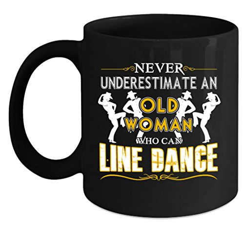 Dance Tea (Line Dance Coffee Mugs - Line Dance Tea Cup, Cool Design Mug 11oz Gift For Friend, Family (Coffee Mug Black))