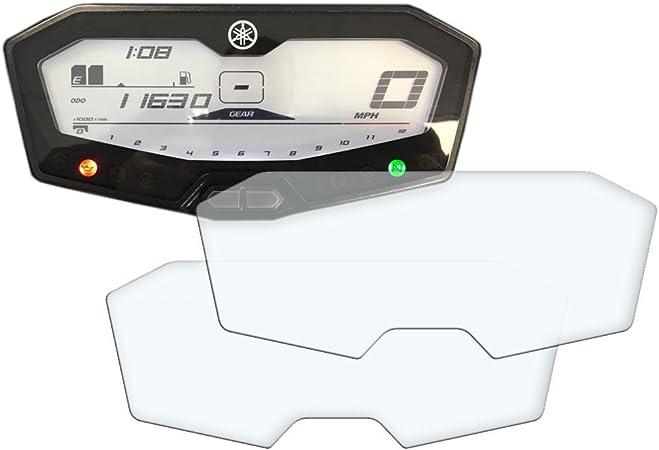 2x Yamaha Mt 07 Fz 07 700 Tracer Displayschutzfolie Tachoschutzfolie Screen Protector Ultra Clear Auto