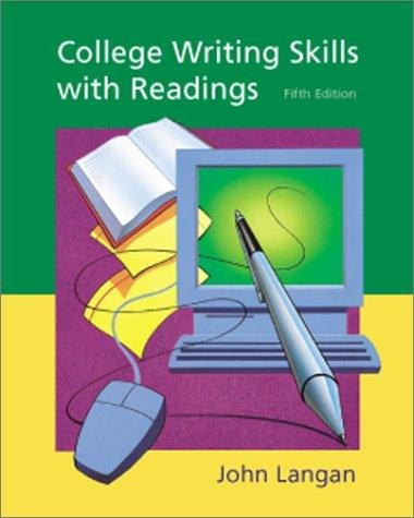 Essay essentials with readings (custom 6th edition)
