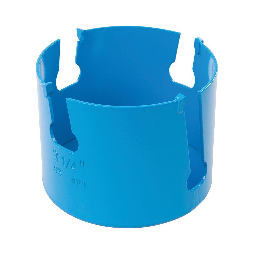 Silverline 334703 Scie-cloche TCT multi-maté riaux, Bleu, 127 mm