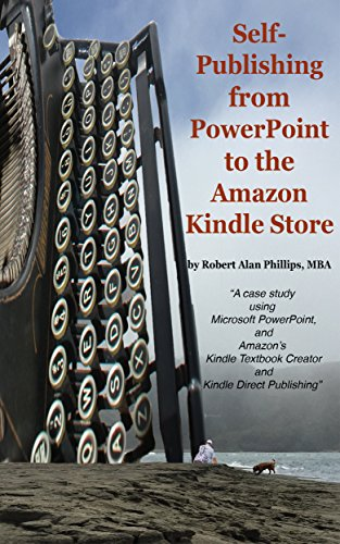 Self-Publishing from PowerPoint to the Amazon Kindle Store