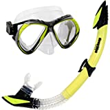 Deep Blue Gear Del Sol 2 Diving Mask Semi-Dry Snorkel Set