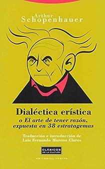 Dialéctica erística par Schopenhauer