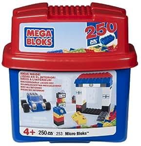 Mega Bloks 00253U Cubo Micro 250 Bloques