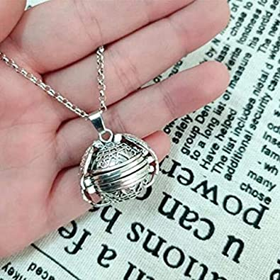 Modogirl Austrian Crystal Rose Gold Plated Women Angel Pendant Necklace