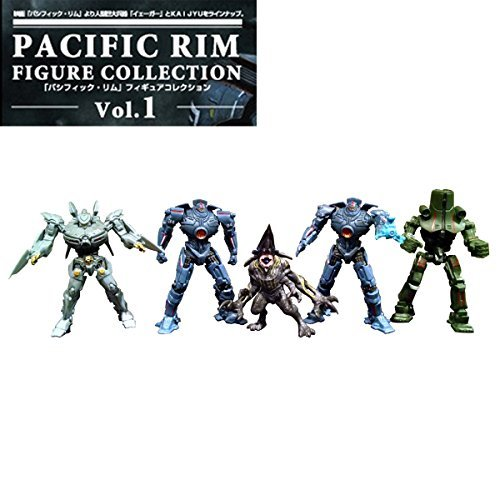 Capsule One Pacific Rim Figure Collection Vol.1 all five set by - Rims Collection Le