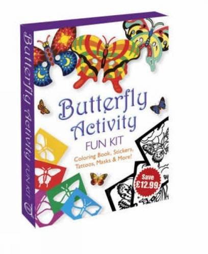 Butterfly Activity Fun Kit (Dover Fun Kits) (Dover Kits Fun)