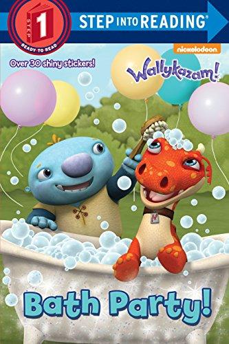 Bath Party! (Wallykazam!) (Step into Reading)