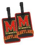 Maryland Terps - NCAA Soft Luggage Bag Tag - Set of 2