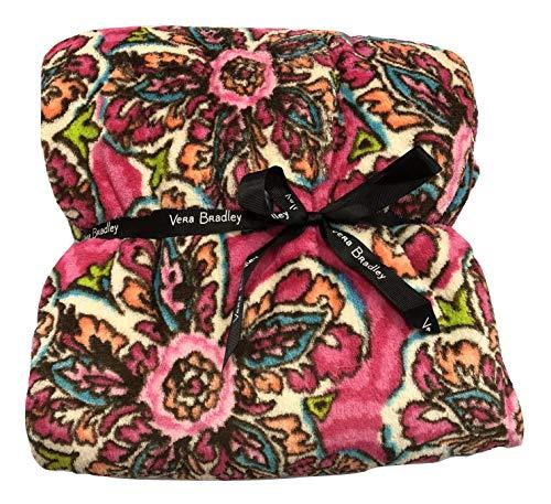 Vera Bradley Throw Blanket, Sunburst Floral