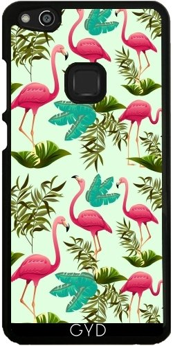 coque huawei p10 lite flamant rose