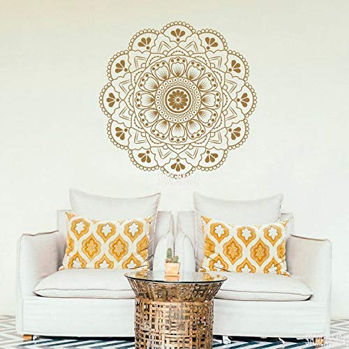 YuanMinglu Mandala Apliques de Pared hogar Dormitorio Sala Arte ...