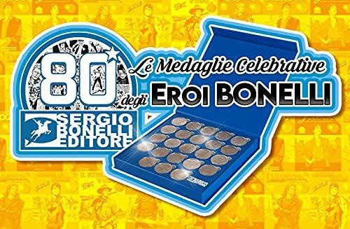 Medaglia Furio Sergio Bonelli Editore Italiano Raccoglitore Medaglie Bonelli