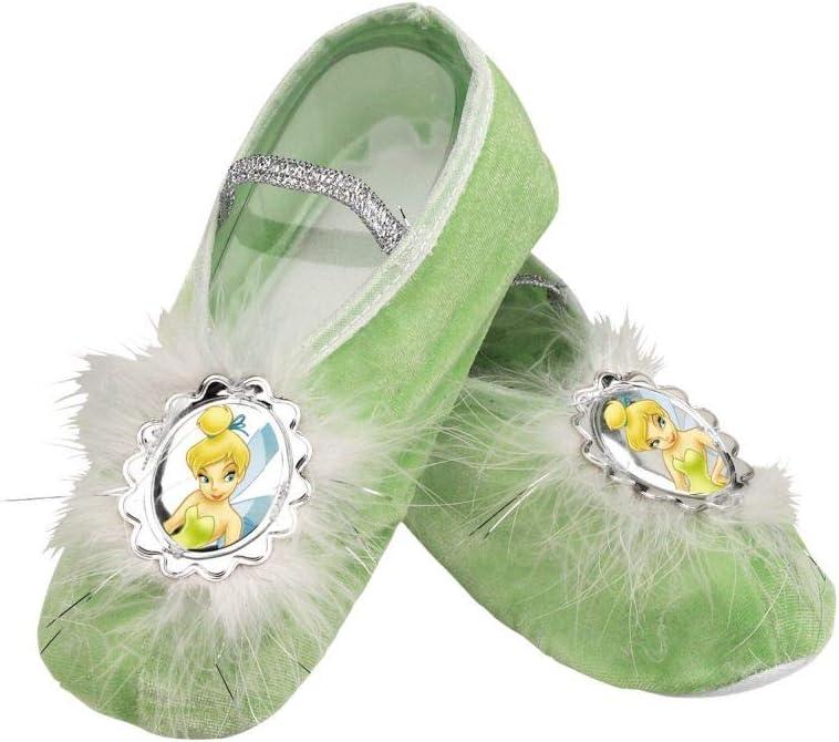 Girls Disney Tinkerbell Ballet Slippers