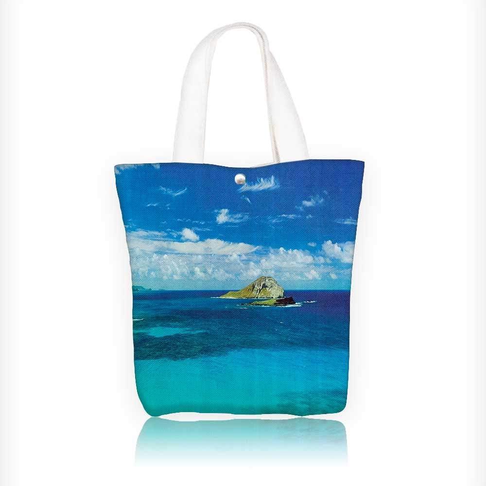 Bolso de mano de lona con antena de Na Pali Coast Kauai ...
