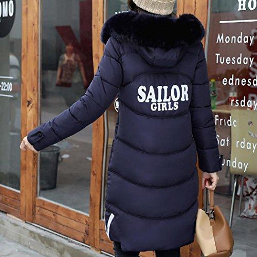Inverno Lungo 2017 Dimagrire Cappotto Di Marina Casuale Lammy Spesso Dayseventh Donne Rivestimento Outwear Più Cappotto AvPd0wPq