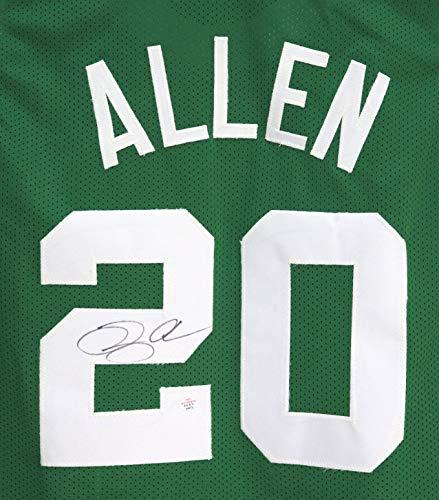 Ray Allen Boston Celtics Signed Autographed Green #20 Custom Jersey PAAS COA