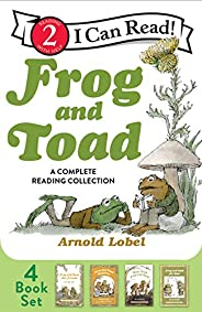 Frog and Toad: A Complete Reading Collection: Frog and Toad Are Friends, Frog and Toad Together, Days with Fro