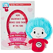 itty bittys Dr. Seuss Thing 1/Thing 2 Valentine's Day Card With Stuffed Animal