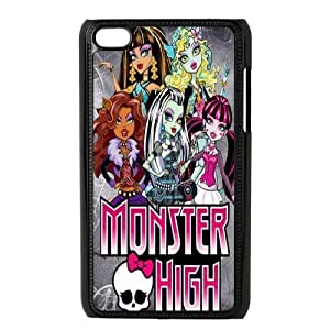Customiz Cartoon Game Monster High Back Case for ipod Touch 4 JNIPOD4-1413 Kimberly Kurzendoerfer