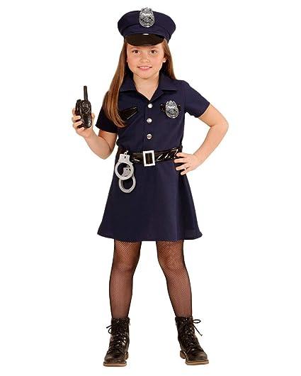 Horror-Shop Disfraz De Mujer Policía Estadounidense L: Amazon.es ...