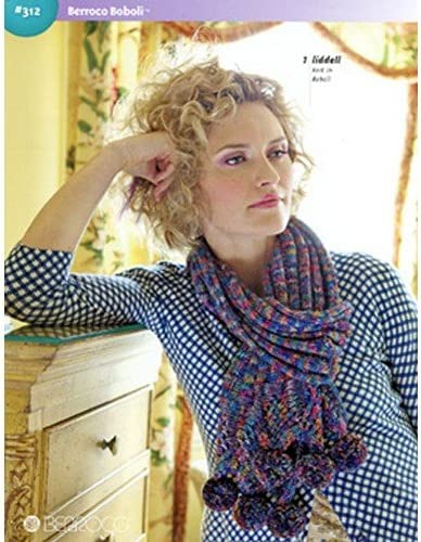 Berroco Book 312 Boboli Yarn Knitting Pattern Book