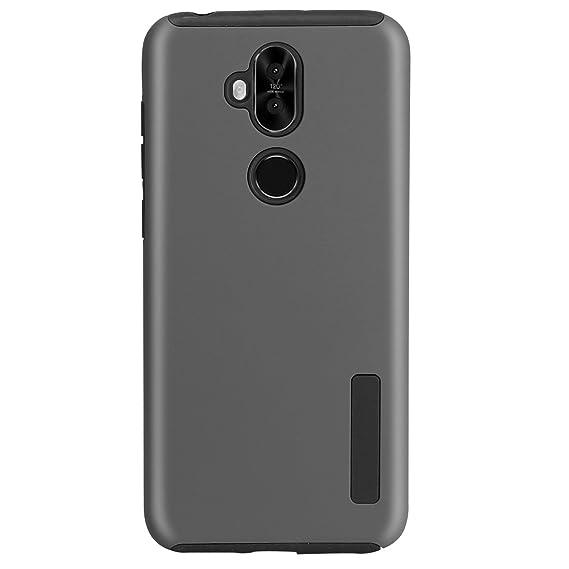 sale retailer 48445 bad6a Asus ZenFone ZC600KL Case, Zenfone 5Q Dual Layer Rubber Armor Hard Plastic  PC + Soft TPU Shockproof Protective Case for Asus ZenFone 5 Lite zc600kl ...