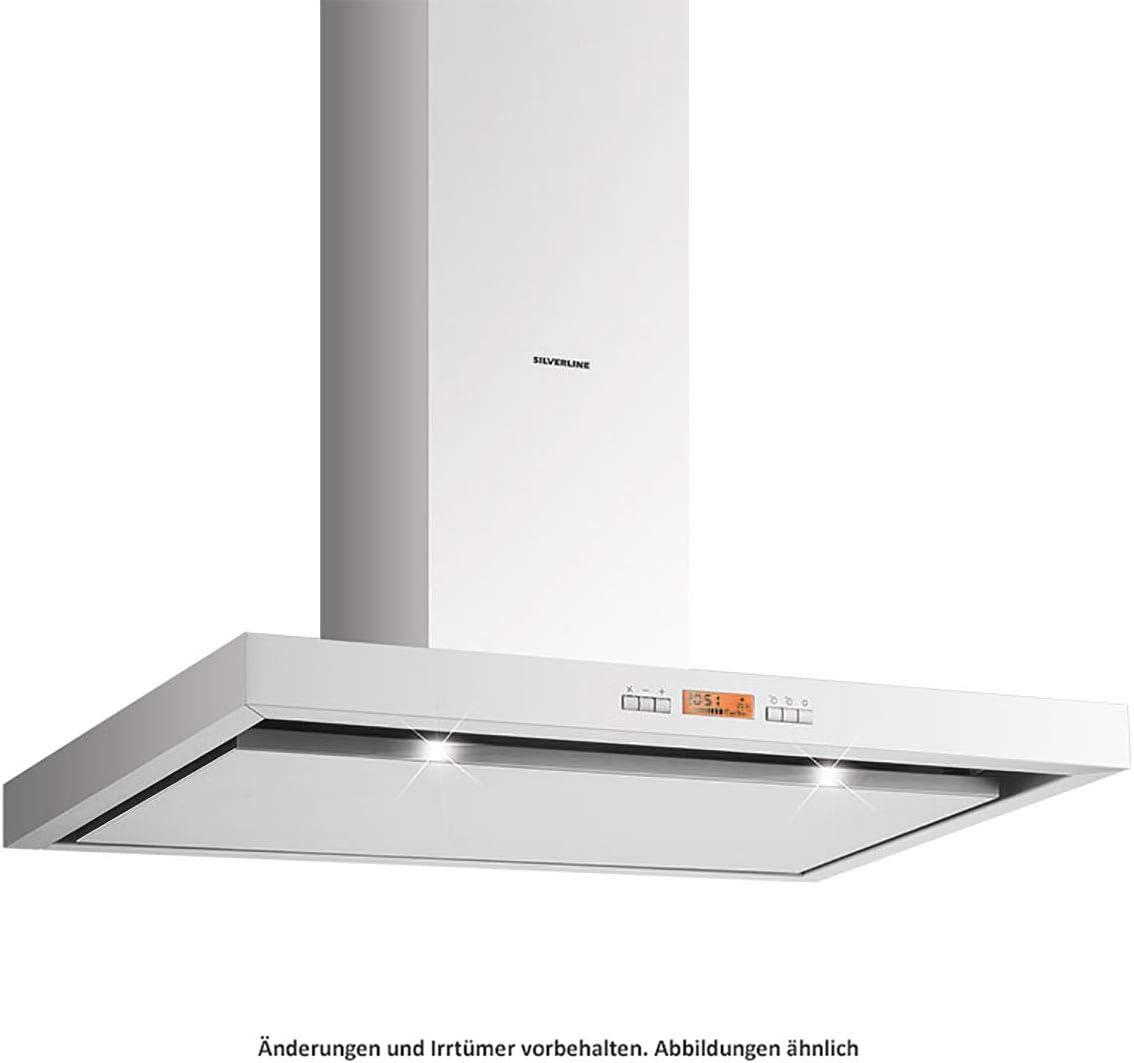 Silverline Vera Deluxe VEBW 910 EA - Campana de pared (acero inoxidable, 90 cm): Amazon.es: Grandes electrodomésticos