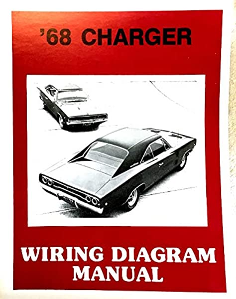 1968 Dodge Charger Factory Electrical Wiring Diagrams Schematics Dodge Chrysler Amazon Com Books