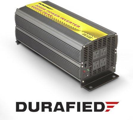indicador de voltaje LCD con 3 enchufes europeos y 4 puertos USB 12 V 3000 W//6000 W 230 V puro Sinus Inversor de corriente