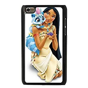 The best gift for Halloween and Christmas iPod 4 Case Black The beautiful Disney Princess Pocahontas GON6221189