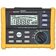 PEAKMETER Analog & Digital 1000V MS5203 Insulation Resistance Tester megger meter 0.01~10G Ohm with Multimeter