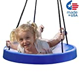 Super Spinner Swing, FUN! Easy Install for Swing Set or Tree, The Ultimate Child Swing!