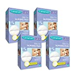 Lansinoh Nursing Pads, 4 Packs of 60 (240 count) Stay Dry Disposable Breast Pads Image