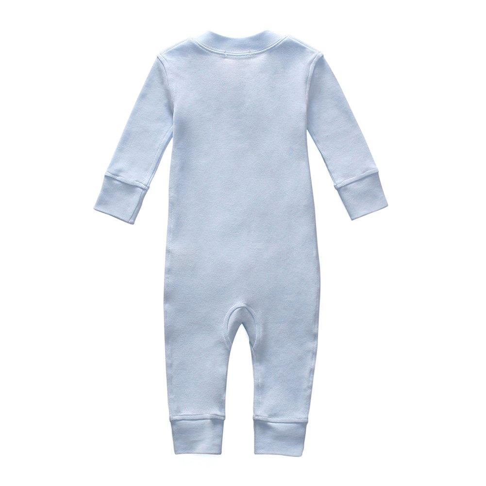 26e27786832 Amazon.com  Owlivia Organic Cotton Baby Boy Girl Zip up Sleep N Play ...